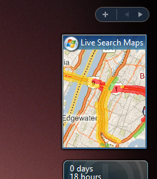 Live Search Maps Gadget Mess (Updated)