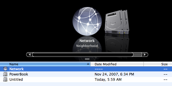 Mac Brings Network Neighborhood Back