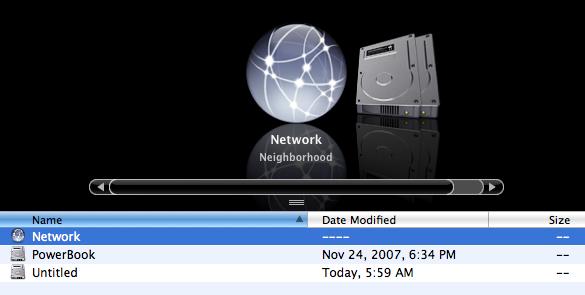 Mac Brings Network Neighborhood Back
