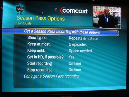 Beware the Comcast TiVo