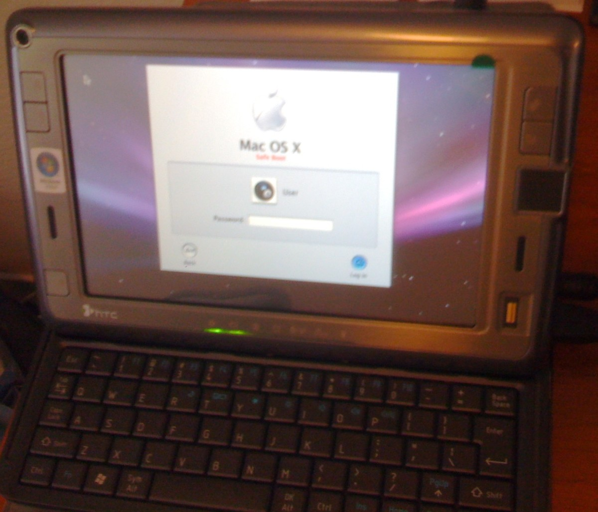 Coming Soon... HTC Shift (into) Mac