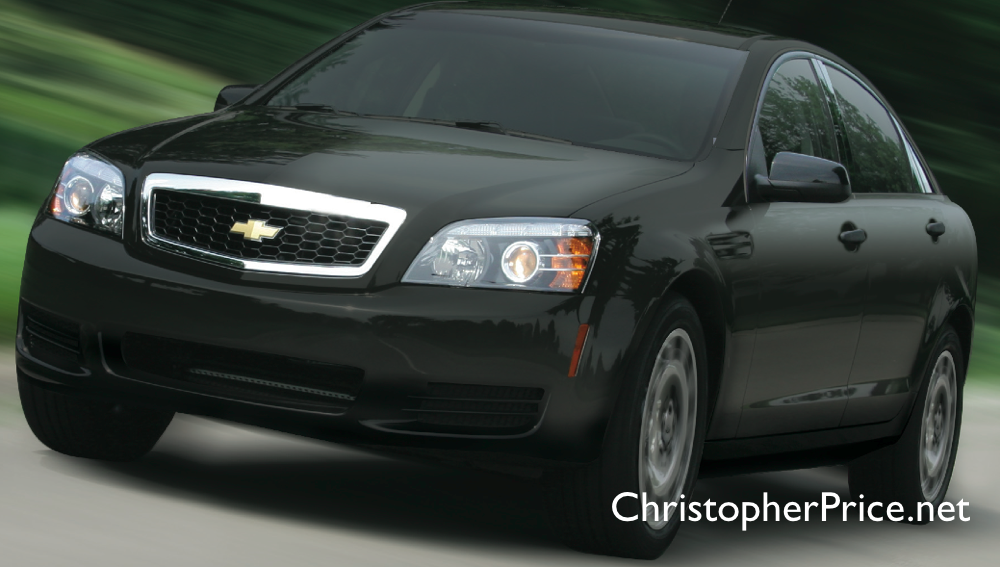 Photo: Civilian Trim for the 2011 Chevy Caprice PPV (The Pontiac You Can't Buy)