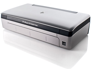 Photo of the HP Officejet 100 mobile printer