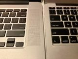 Mildly Interesting: New Late 2013 MacBook Pro Top Case Has Plastics Matching Newer MacBook Models, Improved Trackpad Alignment